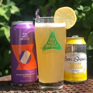 If you love lemonade in the summertime, then this lemonade Shandy is right up your alley. A light, bright 50/50 mix of our Bavarian Hefeweizen and a sweet, cloudy lemonade really hits the spot.