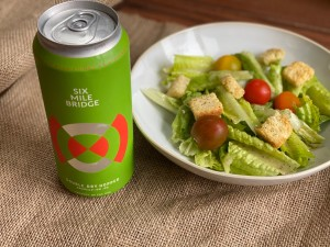 Salad with Amarillo IPA