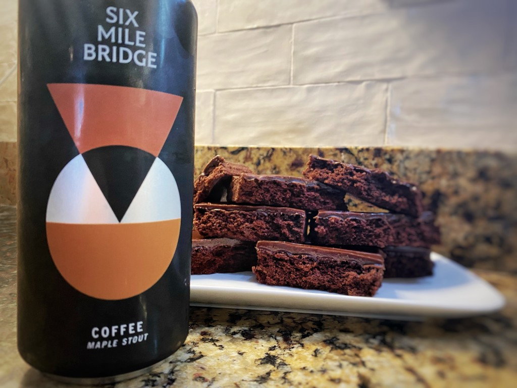 Coffee Maple Stout Brownies